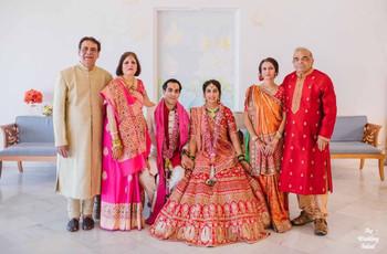 Family Photo Ideas To Make Your Wedding Album Memorable