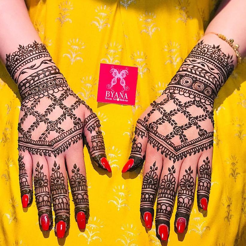 Easy Arabic Mehndi Designs for Left Hand \u2013 Add That Regal