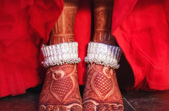 Nail the Bridal Look With 13 Anklets Images Perfect for D-day