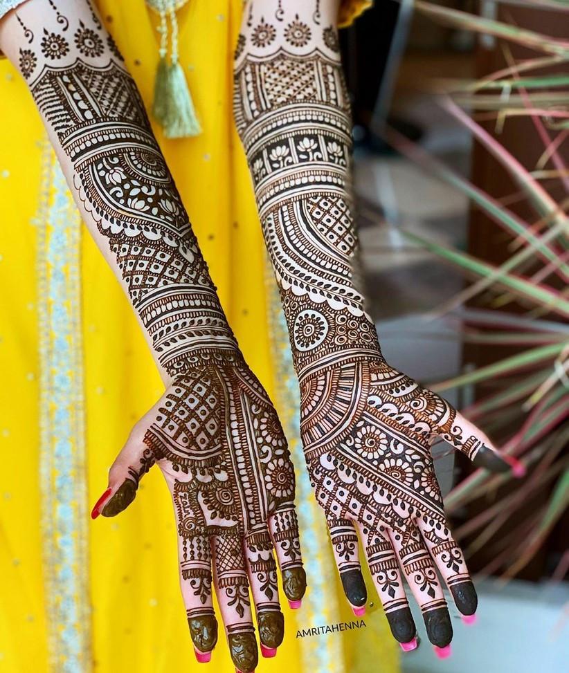 Muslim Mehendi designs for hands