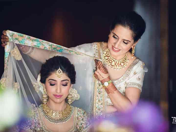 8 Gorgeous Bridal Makeup Hair Looks From Tonyastylist Wedding