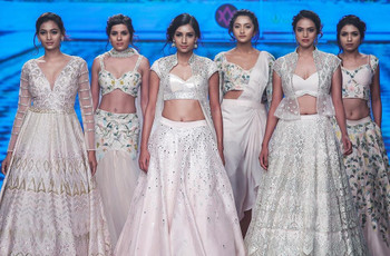 Crop Top Lehengas for Weddings: Here's Why This Fashion Label Is the Right Label for Women Who Want Unique Designs