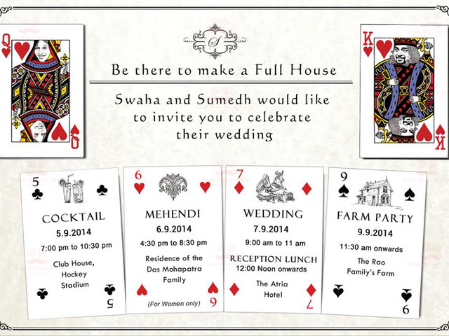 11 Funny, Yet Heart Touching Indian Wedding Invitation Quotes for Friends
