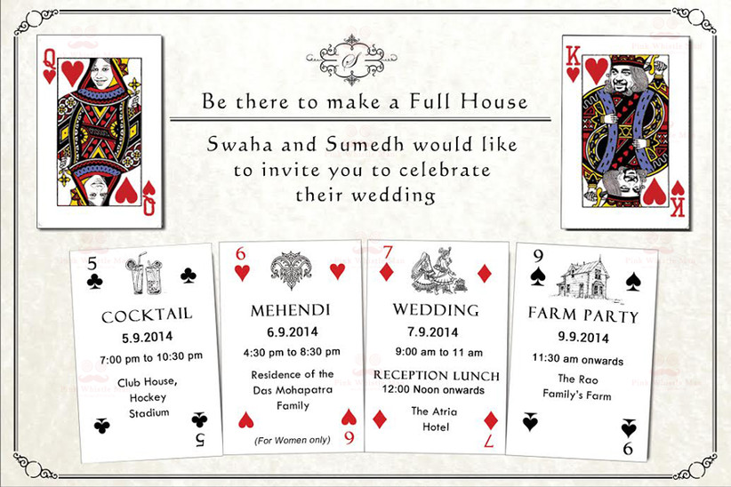 11 Funny Yet Heart Touching Indian Wedding Invitation Quotes For Friends