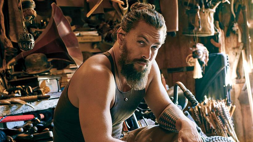 Bandholz  beard styles for older men by Jason Momoa