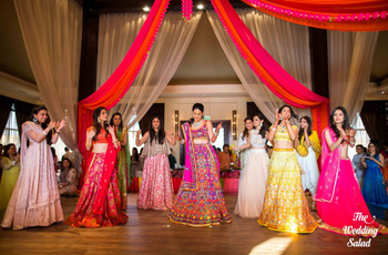 Some Thumkas in the Group Dance on Your Sangeet Night to Rock It