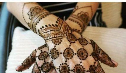 Khushi Shah Bridal Mehendi Artist