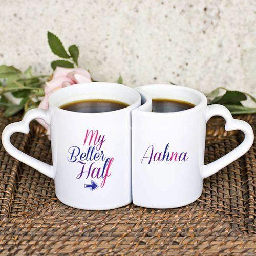 Better half mugs