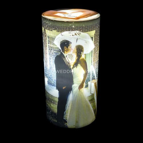 Personalize cylinderical lamp