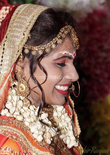 A candid shot @ wedding ceremo