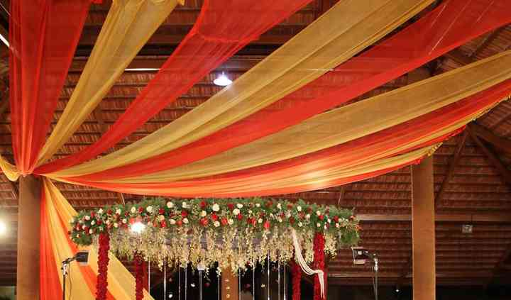 Mandap set-up