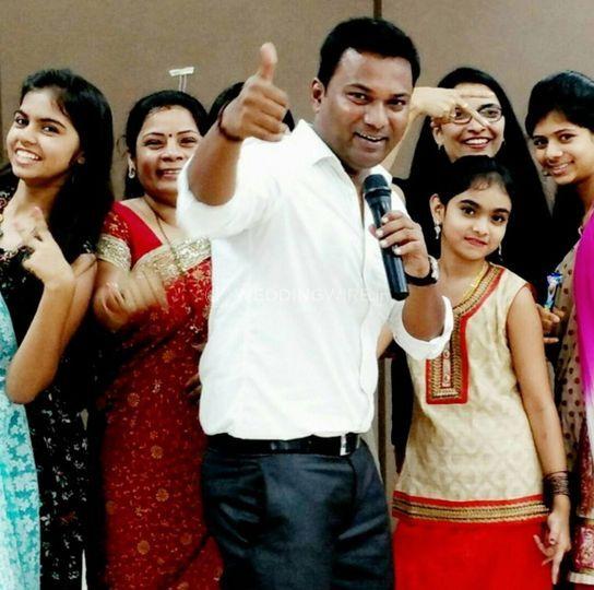 Anchor Emcee Sanjay Potdar