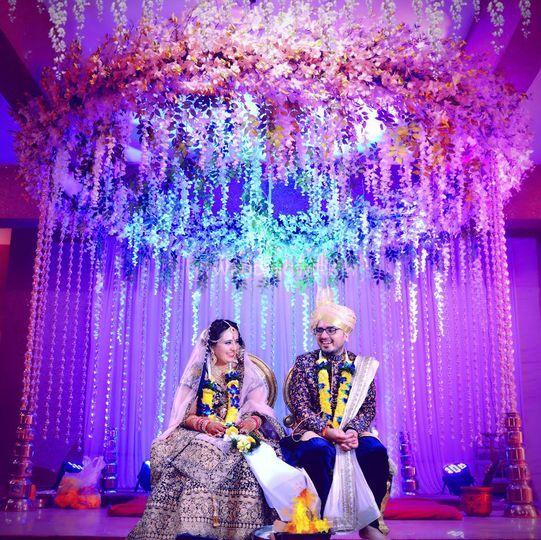 Couple in Wedding