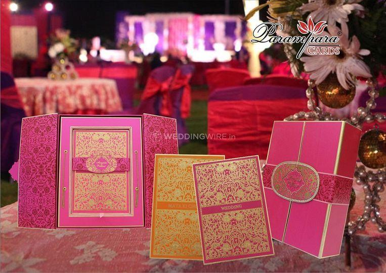 Parampara wedding cards of Parampara Wedding Cards
