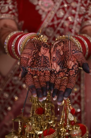 Rajasthani bride and groom
