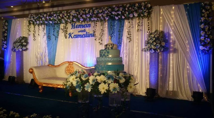 Decoration of weddings
