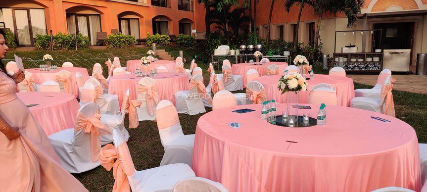 Reception Banquet Decor