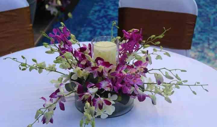 Fragrance flower & decor