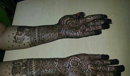 Mehendi Artist Khushboo Shah, Bangalore