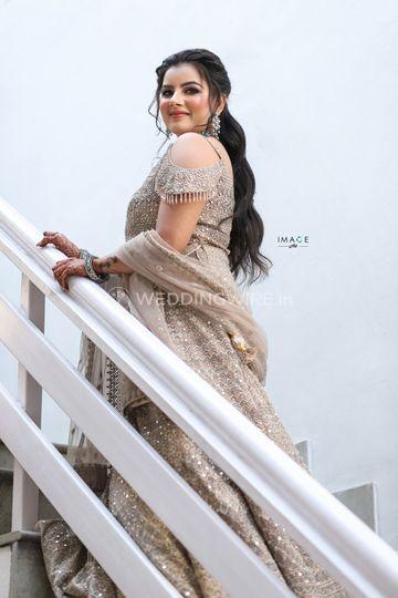Beautiful bride Divya !