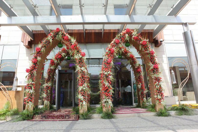Entrance Decorations