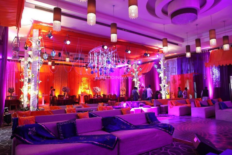 Banquet Hall Theme Decorated
