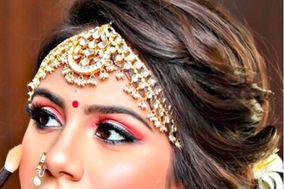 Megha bharti - makeup artist