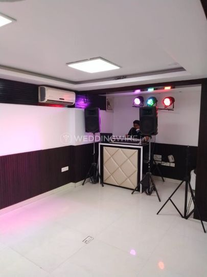 DJ and dance space