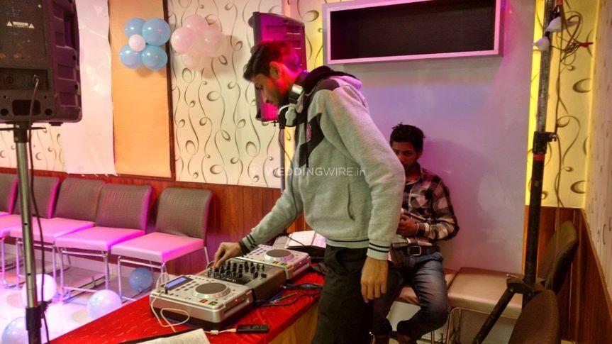 DJ and dancefloor