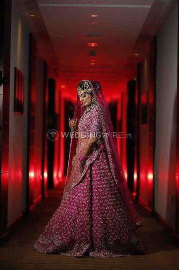 Bridal lehenga- Designer collection