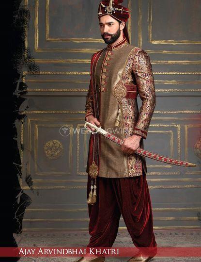 Sherwani- Menswear