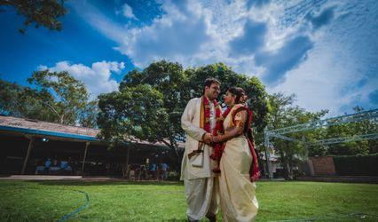 The wedding of Aditya and Prathyusha