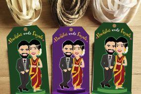 Customized Wedding Invitation, Anand