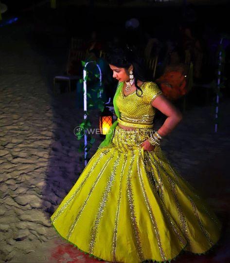 Beach wedding in Goa