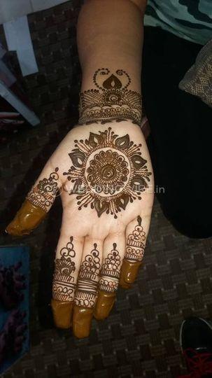 Bridal mehendi design