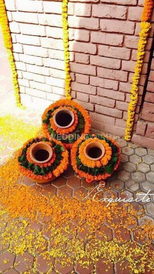 Haldi Function Decor From Falcon Entertainment Photo 131