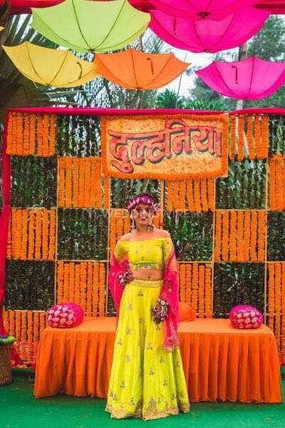 Haldi Function Decor From Falcon Entertainment Photo 134
