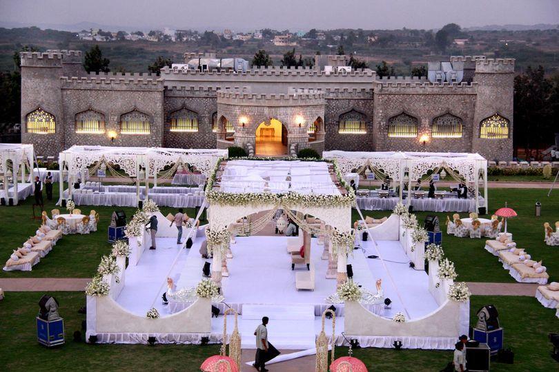 Wedding venue - wedding decor