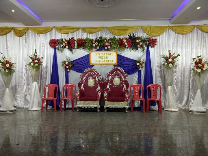 Stage floral decor