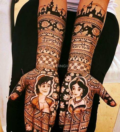 Dhawal's Mehndi Art, Jabalpur