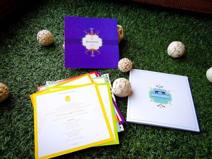 Colourful Invite