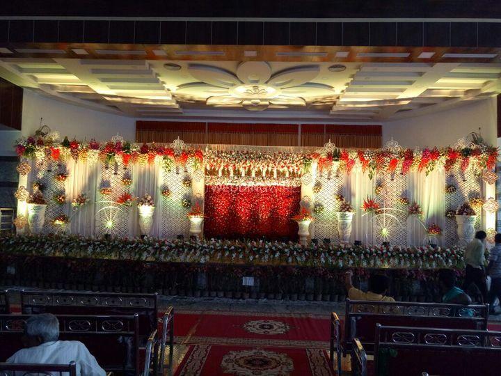 Stage decor