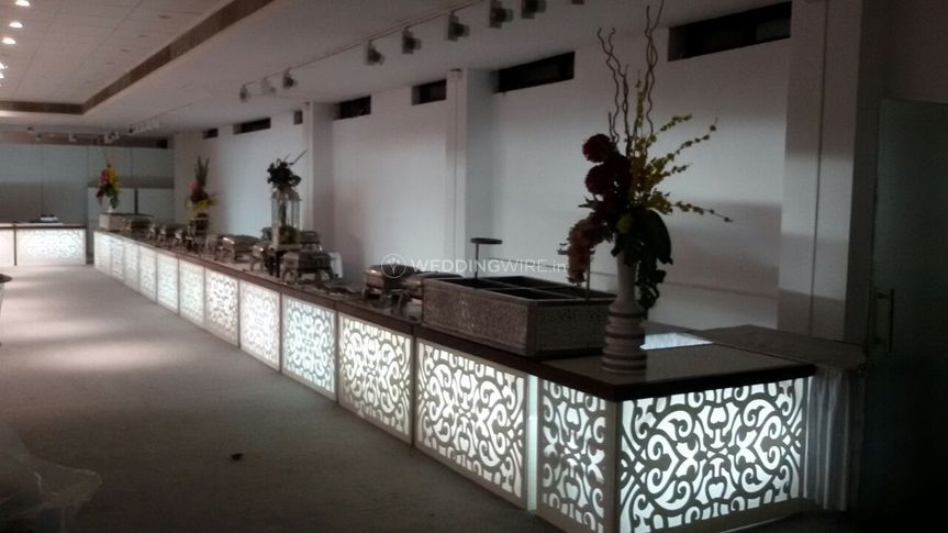 Illuminated counters
