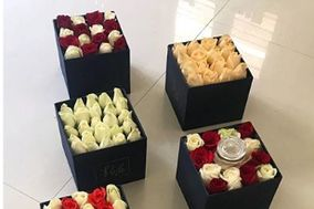 Pink Luxury Flower Studio