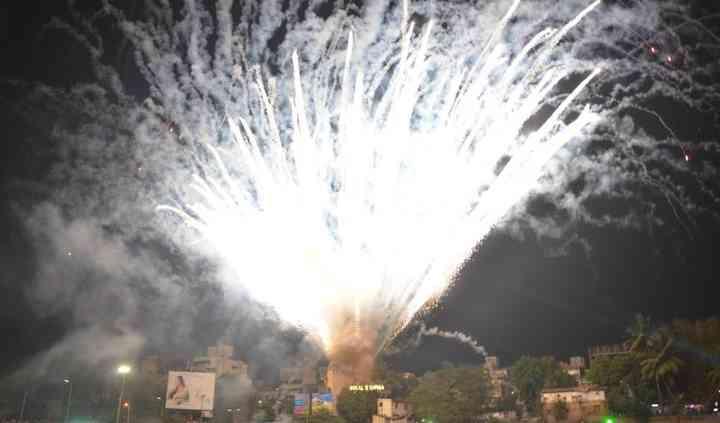 Amir morani fireworks