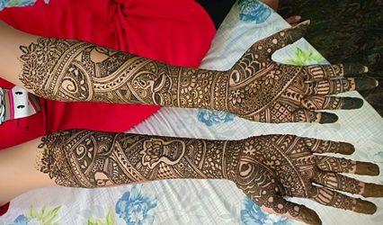 Chaitra Mehendi Artist