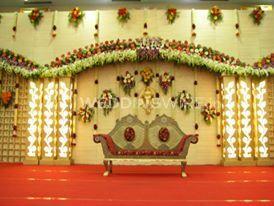 Sri Krishna Flower Decoration