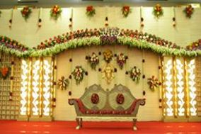 Sri Krishna Flower Decoration