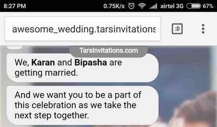 Tars Invitations