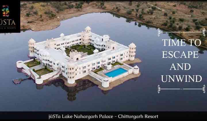 Justa Lake Nahargarh Palace in Chittorgarh